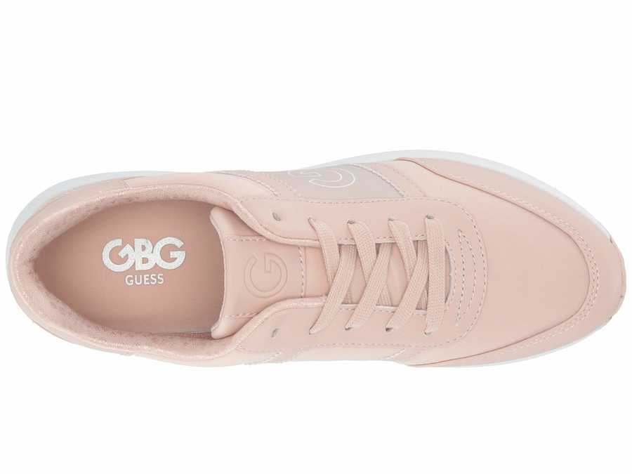 G By Guess Women Light Pink Ryce Lifestyle Sneakers