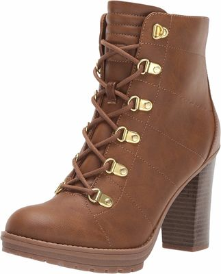 G By Guess - G By Guess Women Luggage Galls Lace Up Boots