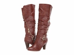 G By Guess Women Luggage Steady2 Knee High Boots - Thumbnail