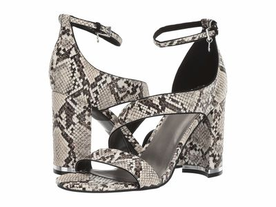 G By Guess - G By Guess Women Nude/Black Shyann Heeled Sandals