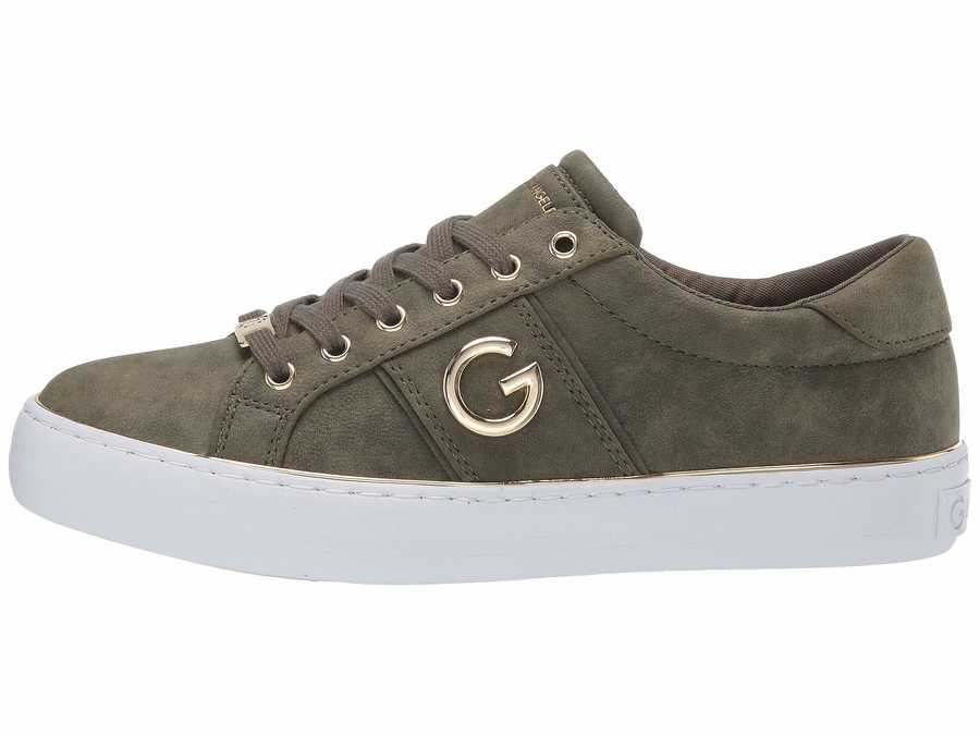 G By Guess Women Olive Grandyy Lifestyle Sneakers