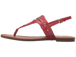G By Guess Women Red Lemmon Flat Sandals - Thumbnail