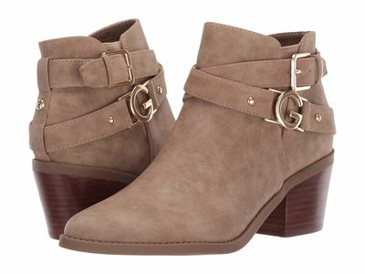 G By Guess - G By Guess Women Sahara Sand Dustyn2 Ankle Bootsbooties