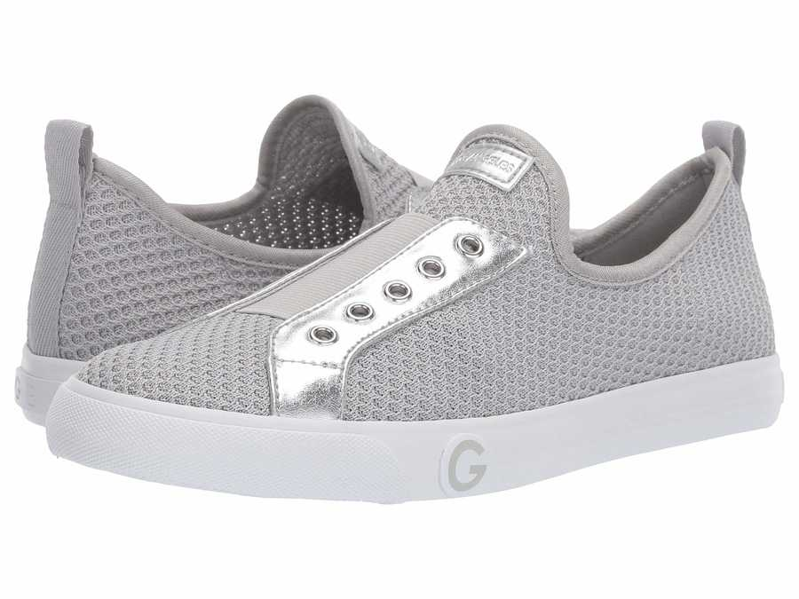 G By Guess Women Silver Oaker Lifestyle Sneakers