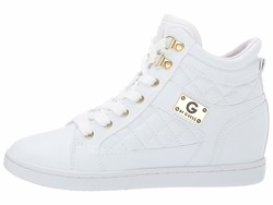 G By Guess Women White Dayna Lifestyle Sneakers - Thumbnail