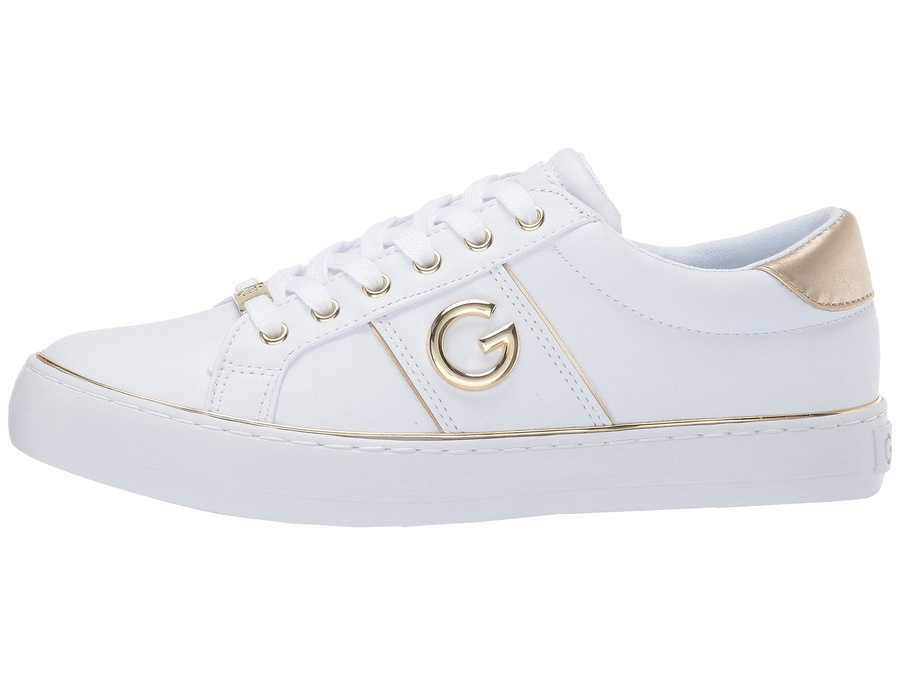 G By Guess Women White Grandyy Lifestyle Sneakers