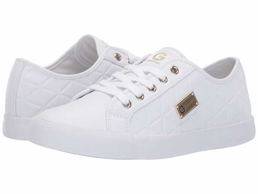 G By Guess Women White Oking Lifestyle Sneakers