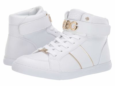 G By Guess - G By Guess Women White/Gold Oleeda Lifestyle Sneakers
