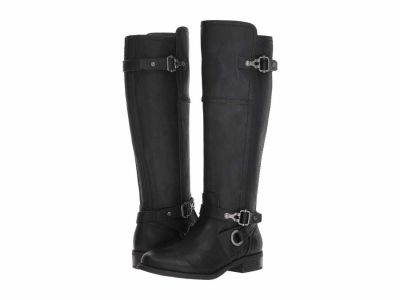 Guess - G by GUESS Women's Black Harvest Knee High Boots
