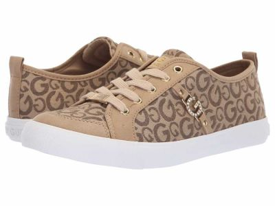 Guess - G by GUESS Women's Taupe Walnut Banx4 Lifestyle Sneakers