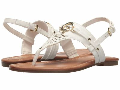 Guess - G by GUESS Women's White Lemmon Sandals