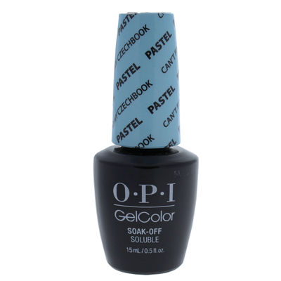 OPI - GelColor Soak-off Gel Lacquer - 101 Cant Find My Czechbook Pastel 0,5oz