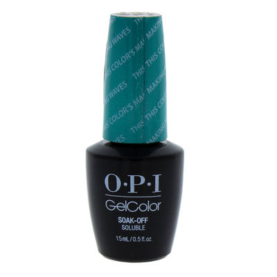 OPI - GelColor Soak-Off Gel Lacquere - H74 This Colors Making Waves 0,5oz