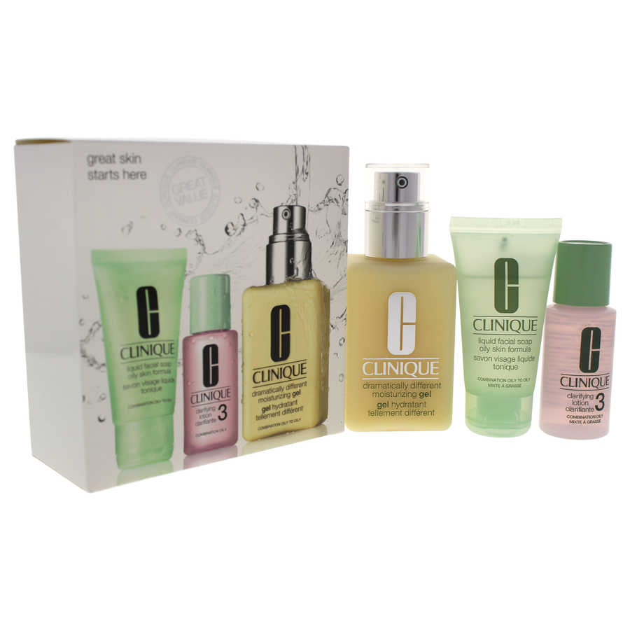 Great Skin 3-Step Skin Care System - Combination Oily Skin 3Pc Kit