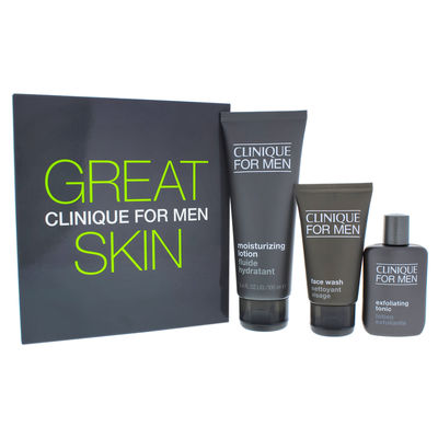 Clinique - Great Skin for Him - Normal To Dry Skin 3Pc Kit