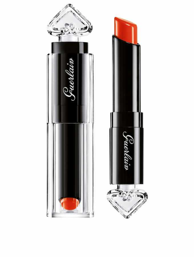 Guerlain La Petite Robe Noire Deliciously Shiny Lip Colour - 042 Fire Bow 0.09 oz
