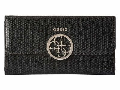 Guess - Guess Black 2 Kamryn Slg Multi Clutch Clutch Bag