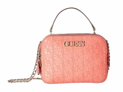 Guess - Guess Coral Heritage Pop Convertable Camera Bag Cross Body Bag