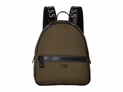 Guess - Guess Khaki Urban Chic Backpack