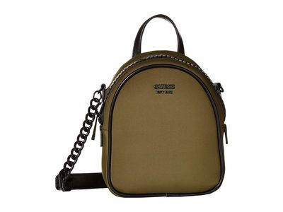 Guess - Guess Khaki Urban Chic Mini Crossbody Bag Cross Body Bag