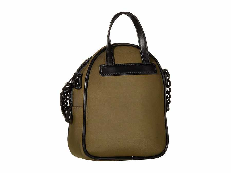 Guess Khaki Urban Chic Mini Crossbody Bag Cross Body Bag