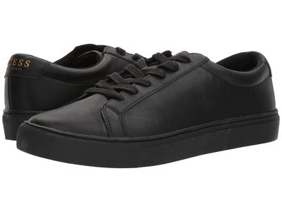 Guess - Guess Men Black Synthetic Barette Lifestyle Sneakers