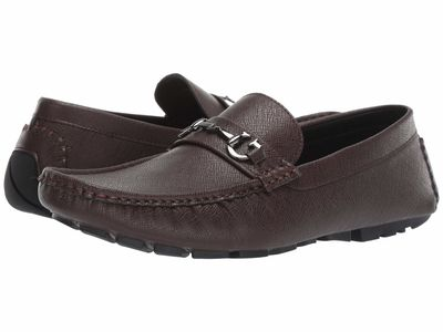 Guess - Guess Men Brown Multi Adlers Loafers