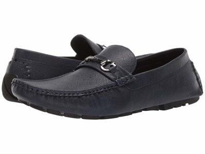 Guess - Guess Men Dark Blue Adlers Loafers