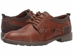 Guess Men Dark Brown Dancel Oxfords - Thumbnail