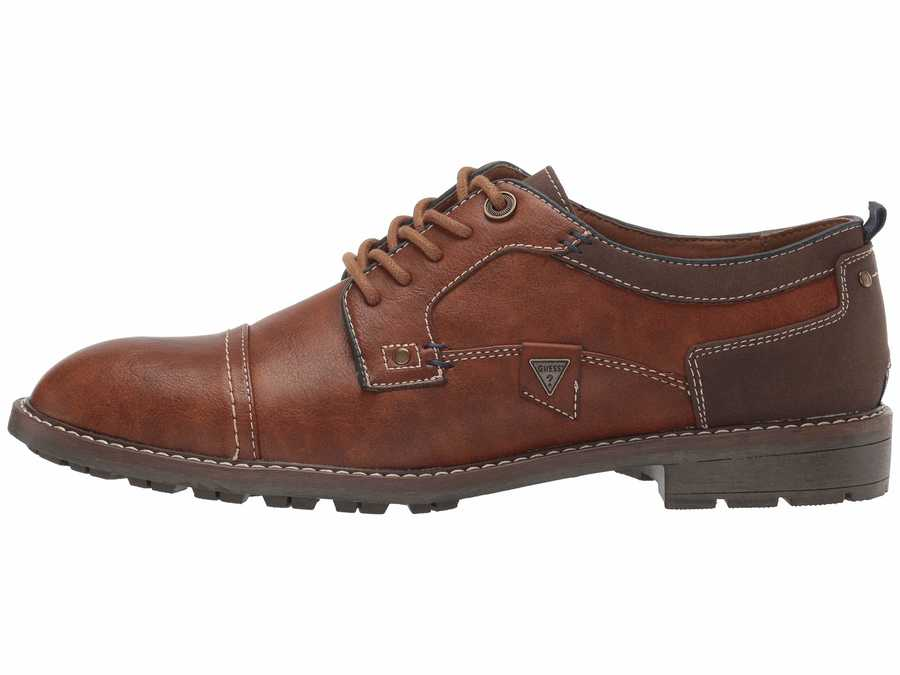 Guess Men Dark Brown Dancel Oxfords