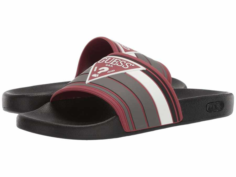 Guess Men Dark Red İlly Active Sandals