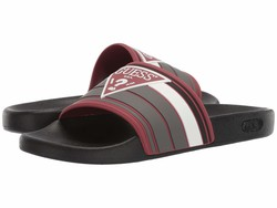 Guess Men Dark Red İlly Active Sandals - Thumbnail