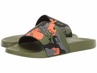 Guess - Guess Men Orange Multi Eckhart Active Sandals