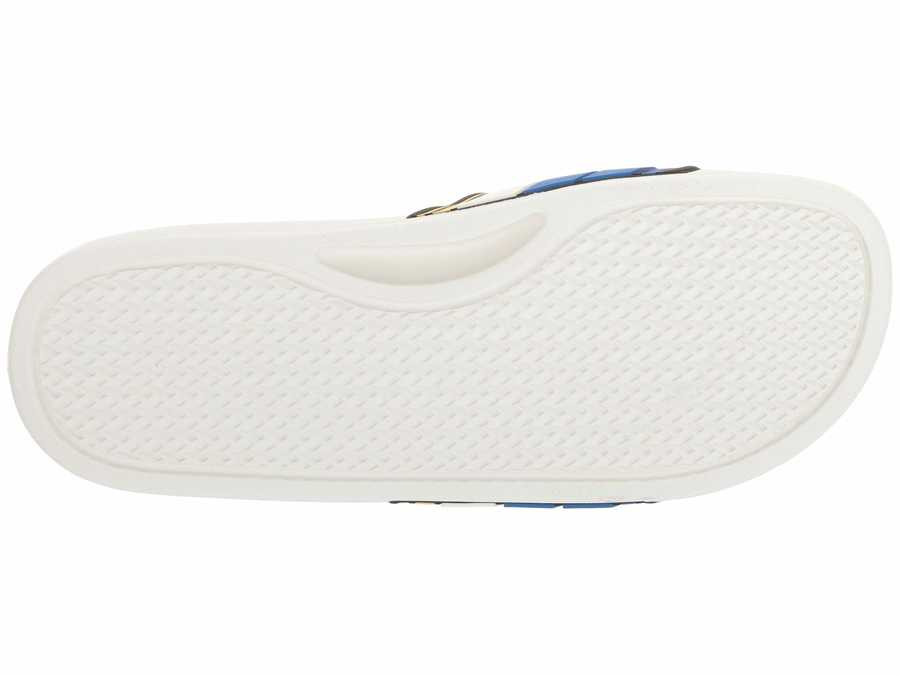 Guess Men White Multi İlly Active Sandals