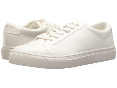 Guess - Guess Men White Synthetic Barette Lifestyle Sneakers
