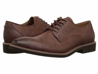 Guess - GUESS Men's Cognac Jakey Oxfords