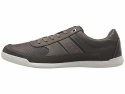 GUESS Men's Grey Jahim Sneakers Athletic Shoes - Thumbnail