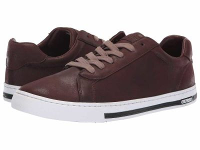 Guess - GUESS Men's Red Maxy Lifestyle Sneakers