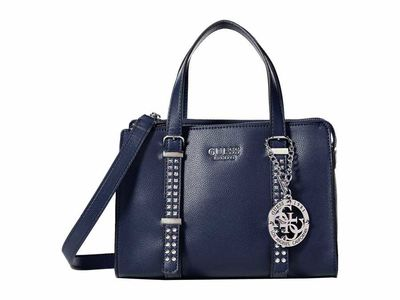 Guess - Guess Midnight Eileen Small Status Satchel Satchel Handbag