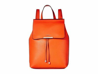 Guess - Guess Orange/Coral Varsity Pop Backpack