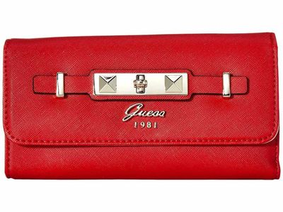 Guess - Guess Red Cherie Slg Multi Clutch Clutch Bag