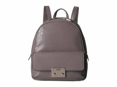Guess - Guess Taupe Tamra Small Backpack