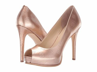 Guess - Guess Women Beige 1 Honora Pumps