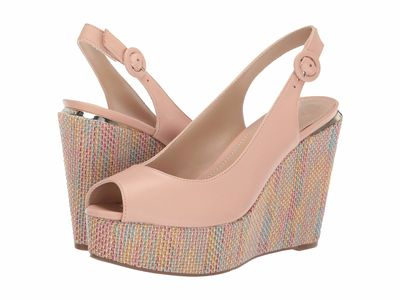 Guess - Guess Women Beige Hardy Wedge Heels