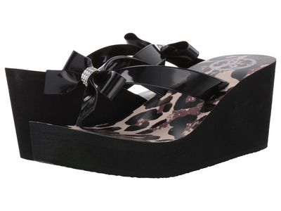 Guess - Guess Women Black Siarra Heeled Sandals