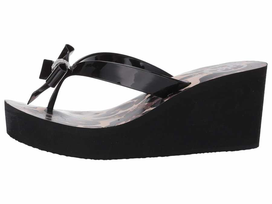 Guess Women Black Siarra Heeled Sandals