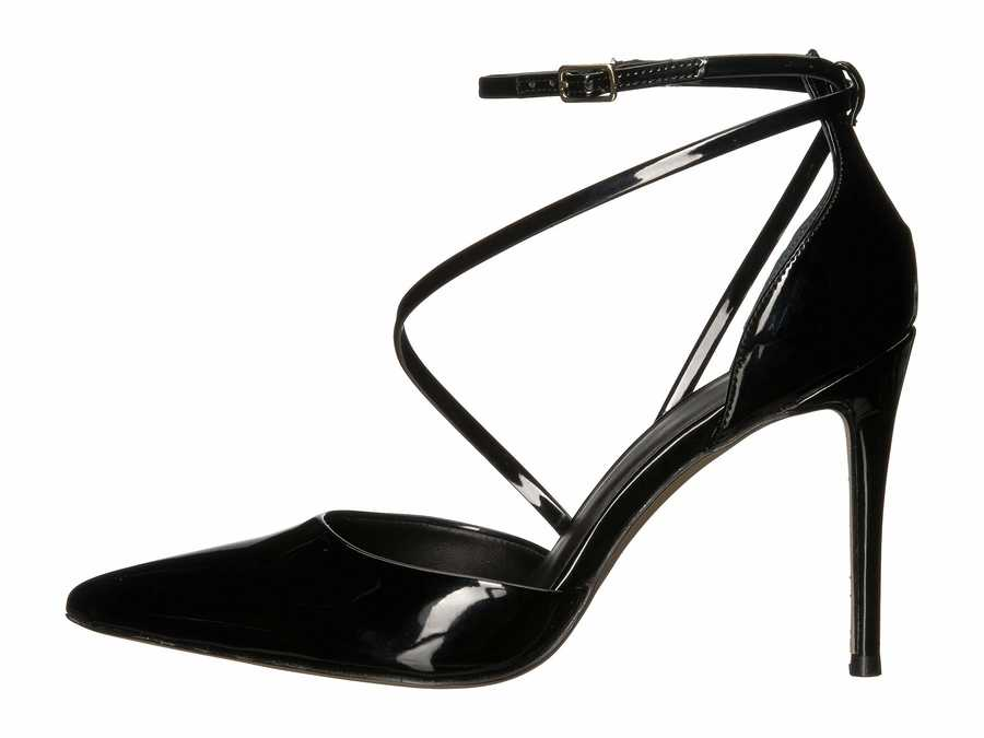 Guess Women Black Synthetic Bizzy Pumps