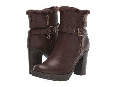 Guess Women Brown Kavin Ankle Bootsbooties