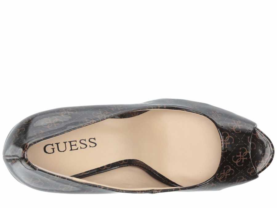 Guess Women Brown Pavell Pumps