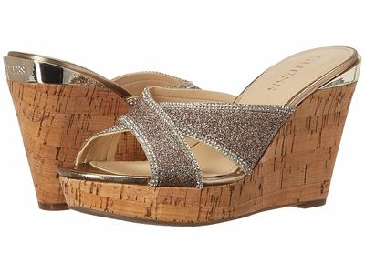 Guess Women Gold Eleonora Heeled Sandals